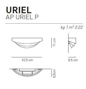 AXO Light Kinkiet Uriel AP P chrom