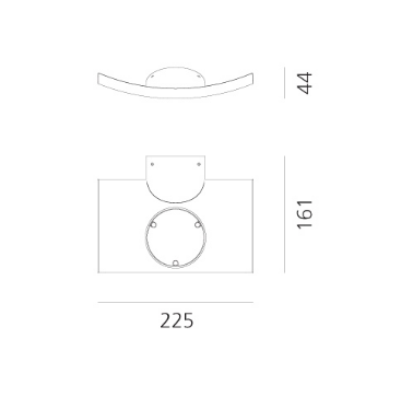 Artemide Microsurf 1646050A Kinkiet