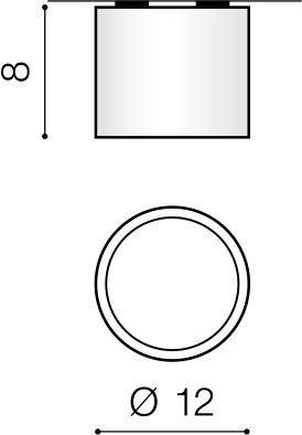 Azzardo Spot Alix AZ3541 Biały
