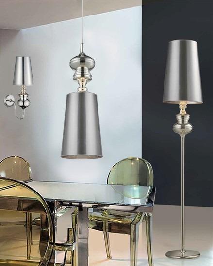Baroco AL 7121-1 Silver Lampa Podłogowa AZZARDO