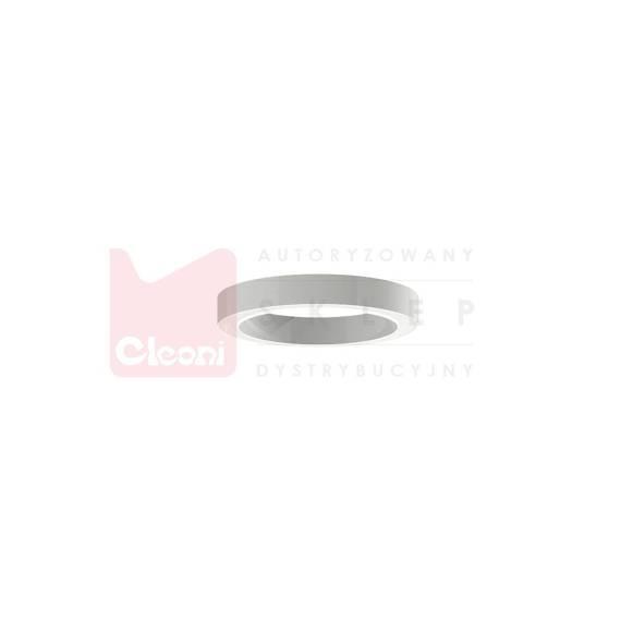 Cleoni Plafon 1408/UP/LA/W/SP 192 LED Biały matowy 70 cm