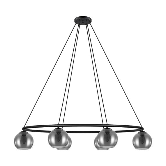 Eglo Daguella 39578 Lampa wisząca czarna