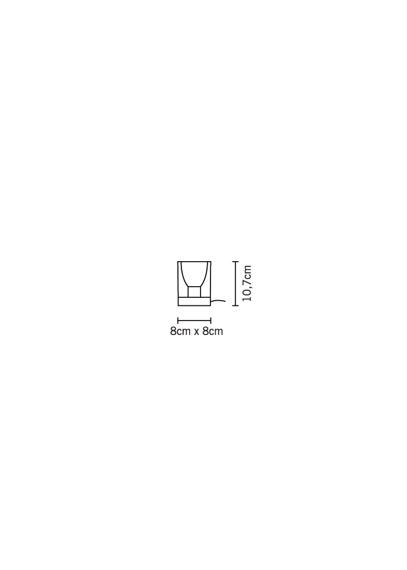 Fabbian CUBETTO BLACK D28 B03 02 Lampka