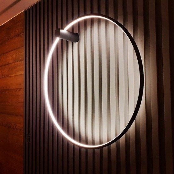 Kinkiet Okrągły Ramko Echo 67946 kolor biały 120 cm