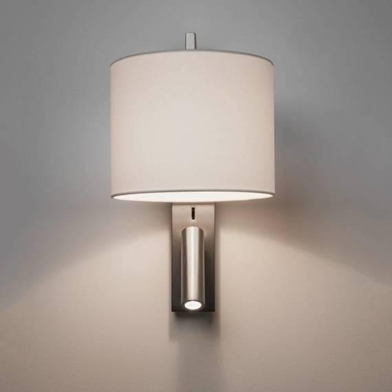 Lampa ścienna Astro Ravello LED Reader 1222019 + 5030004 z kloszem