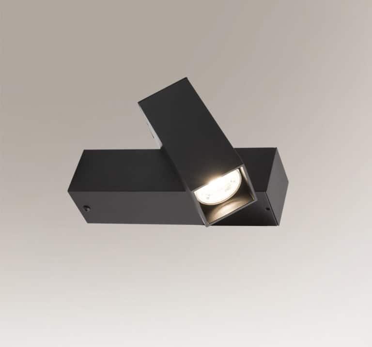 Lampa ścienna Shilo Mitsuma 8004 Czarna