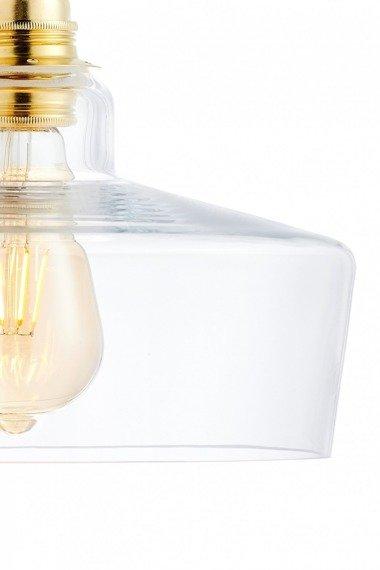 Lampa wisząca- listwa Kaspa Longis 3 10875305 Złota