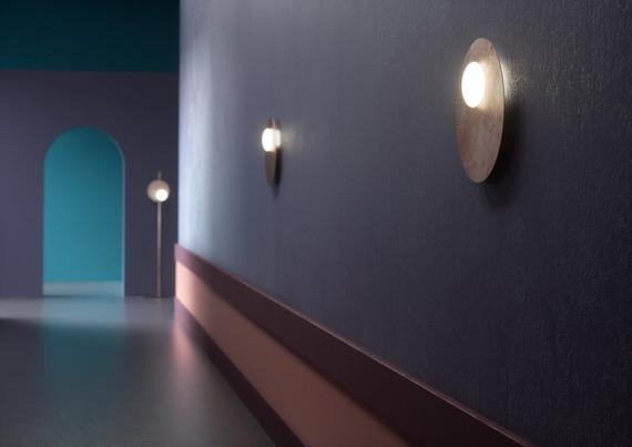 Plafoniera Axo Light Kwic 36 cm brązowa
