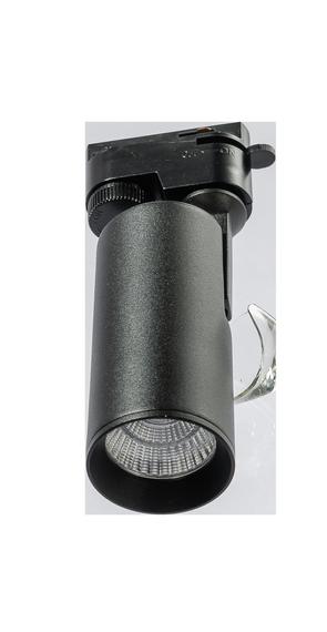 Reflektor szynowy CCT Azzardo Kirke Track 1 Fazowy AZ4656 Czarny