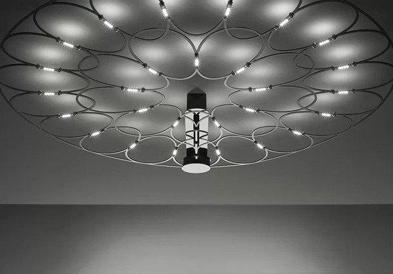 Sforzin Lafra Maxi Cromo Lampa Sufitowa
