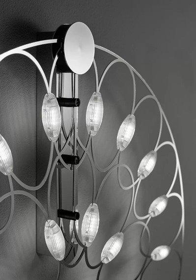 Sforzin Lafra Media Cromo Lampa Ścienna