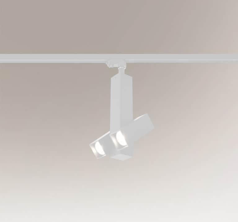 Shilo Mitsuma 7995 Reflektor regulowany do szynoprzewodu Biały