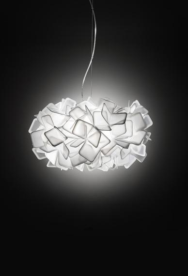 Slamp Clizia duża biała Lampa wisząca