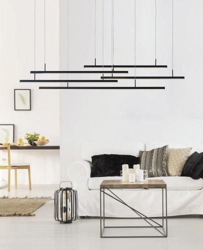 Zwis listwy LED Azzardo Merlo czarne