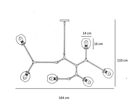 Żyrandol Berella Light Tabole 6