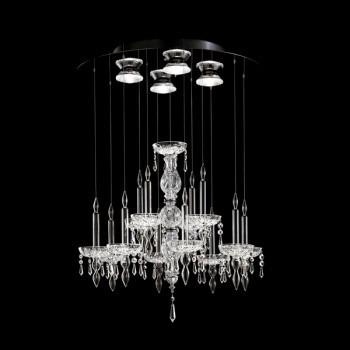 Żyrandol Facon de Venice LIMELIGHT 12.4 crystal
