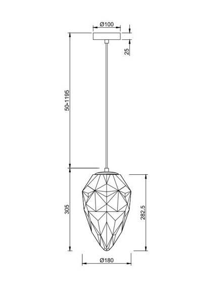 Żyrandol Maytoni Globo P052PL-01PK Różowy