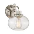 Lampa Ścienna Elstead Lighting Trilogy QZ-TRILOGY1-BN Nikiel